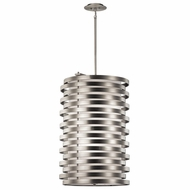 Kichler 43306NI Roswell Modern Brushed Nickel Finish 21.25  Wide Drop Lighting Fixture