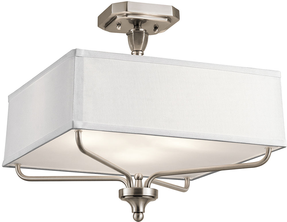 Kichler 43309clp arlo classic pewter ceiling light fixture kic kichler 43309clp arlo classic pewter ceiling light fixture loading zoom aloadofball Image collections