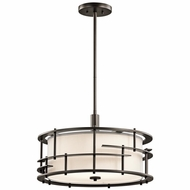 Kichler 43373OZ Tremba Olde Bronze Finish 12.25  Tall Hanging Light