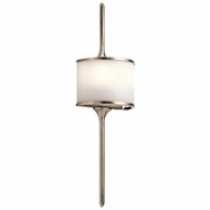 Kichler 43375CLP Mona Modern Classic Pewter Halogen Lighting Sconce