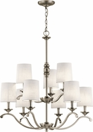 Kichler 43393AP Versailles Antique Pewter Chandelier Light