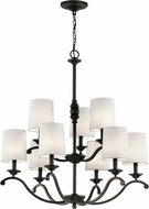 Kichler 43393OZ Versailles Olde Bronze Chandelier Lighting