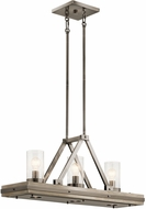 Kichler 43433CLP Colerne Contemporary Classic Pewter Island Lighting