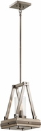 Kichler 43435CLP Colerne Modern Classic Pewter Mini Pendant Lighting