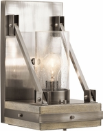 Kichler 43436CLP Colerne Contemporary Classic Pewter Sconce Lighting