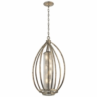 Kichler 43451SGD Savanna Modern Sterling Gold Foyer Light Fixture