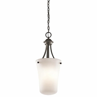 Kichler 43509OZ Keiran Olde Bronze Finish 10.5  Wide Foyer Lighting