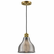Kichler 43551NBR Devin Natural Brass Mini Hanging Lamp