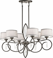 Kichler 43569OZ Casilda Olde Bronze Mini Chandelier Light