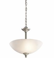 Kichler 43641NI Jolie Brushed Nickel Pendant Light