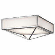 Kichler 43650CHLED Savoca Modern Chrome LED Home Ceiling Lighting