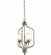 Kichler 43656AP Lilah Antique Pewter Foyer Lighting Fixture