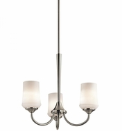 Kichler 43664NI Aubrey Brushed Nickel Mini Lighting Chandelier