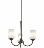 Kichler 43664OZ Aubrey Olde Bronze Mini Chandelier Lamp