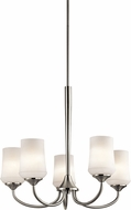 Kichler 43665NIL16 Aubrey Brushed Nickel LED Hanging Chandelier