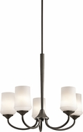 Kichler 43665OZL16 Aubrey Olde Bronze LED Chandelier Light