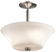 Kichler 43669NI Aubrey Brushed Nickel Overhead Lighting