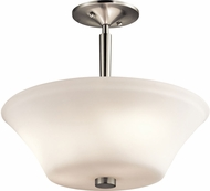 Kichler 43669NIL16 Aubrey Brushed Nickel LED Home Ceiling Lighting