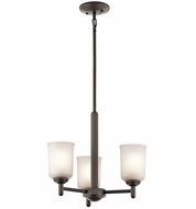 Kichler 43670OZ Shailene Olde Bronze Mini Lighting Chandelier