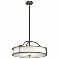 Kichler 43706OZ Emory Olde Bronze Drop Ceiling Light Fixture