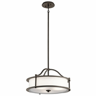 Kichler 43707OZ Emory Olde Bronze Pendant Lighting
