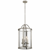 Kichler 43709CLP Emory Classic Pewter Entryway Light Fixture