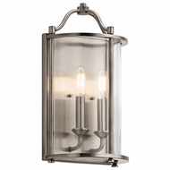 Kichler 43710CLP Emory Classic Pewter Lighting Wall Sconce