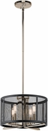 Kichler 43713PN Titus Modern Polished Nickel Hanging Light Fixture