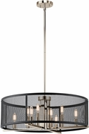 Kichler 43715PN Titus Contemporary Polished Nickel Drop Lighting