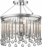 Kichler 43726CH Piper Modern Chrome Ceiling Lighting Fixture