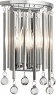 Kichler 43727CH Piper Contemporary Chrome Wall Lamp