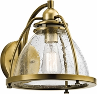 Kichler 43741NBR Silberne Contemporary Natural Brass Lamp Sconce