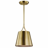 Kichler 43743NBR Maclain Natural Brass Mini Hanging Light