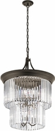 Kichler 43747OZ Emile Contemporary Olde Bronze Foyer Lighting Fixture