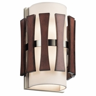 Kichler 43756AUB Cirus Contemporary Auburn Stained Wall Sconce Lighting