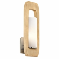 Kichler 43762NI Passport Modern Brushed Nickel Wall Mounted Lamp
