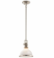 Kichler 43764PN Hatteras Bay Nautical Polished Nickel Mini Drop Lighting Fixture