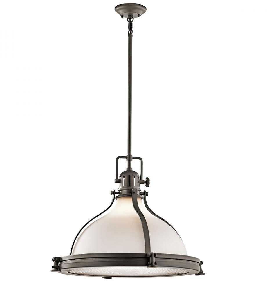 kichler 43768oz hatteras bay nautical olde bronze pendant light fixture loading zoom - Bronze Pendant Light