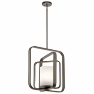 Kichler 43783OZ City Loft Modern Olde Bronze Ceiling Light Pendant