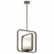 Kichler 43784OZ City Loft Contemporary Olde Bronze Drop Lighting Fixture