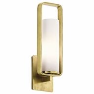 Kichler 43787NBR City Loft Modern Natural Brass Wall Lighting Fixture