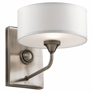 Kichler 43843CLP Lucille Classic Pewter Wall Lamp