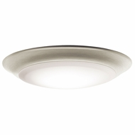 Kichler 43848NILED30 Brushed Nickel LED 3000K 7.5  Flush Lighting