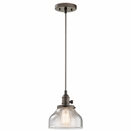 Kichler 43850OZ Avery Olde Bronze Mini Hanging Pendant Lighting