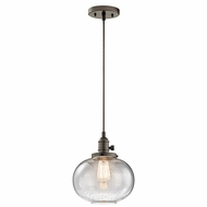Kichler 43852OZ Avery Olde Bronze Mini Ceiling Light Pendant