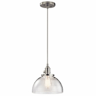 Kichler 43853NI Avery Brushed Nickel Mini Drop Ceiling Light Fixture