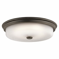 Kichler 43875OZLED Olde Bronze LED Ceiling Light Fixture