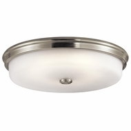 Kichler 43876NILED Brushed Nickel LED Flush Lighting