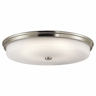 Kichler 43877NILED Brushed Nickel LED Flush Mount Lighting