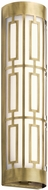 Kichler 43879NBRLED Empire Contemporary Natural Brass LED Lighting For Bathroom